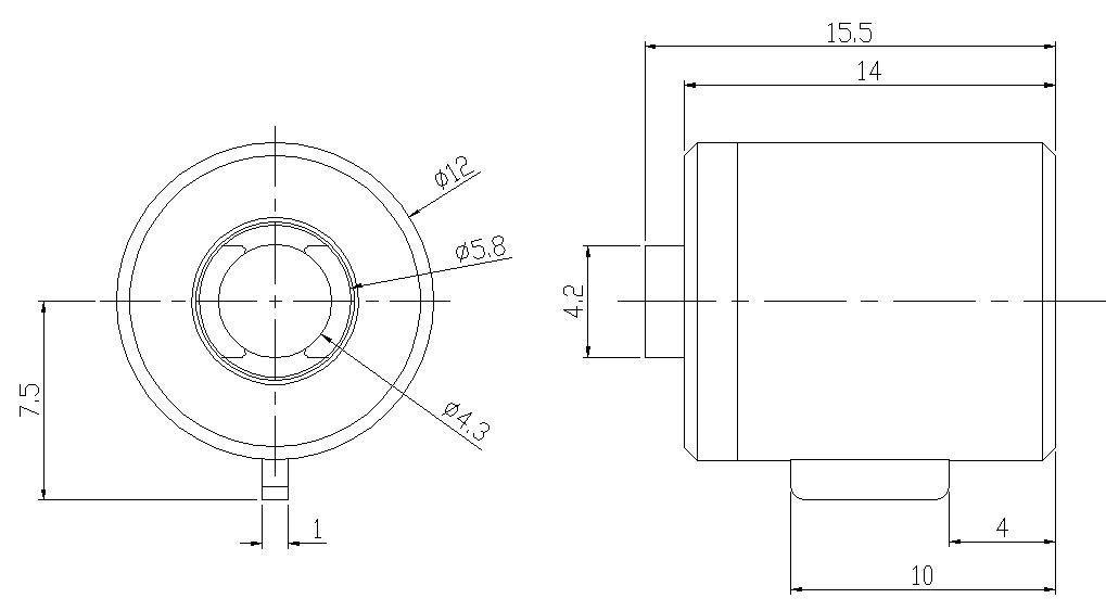旋转式马桶结构图
